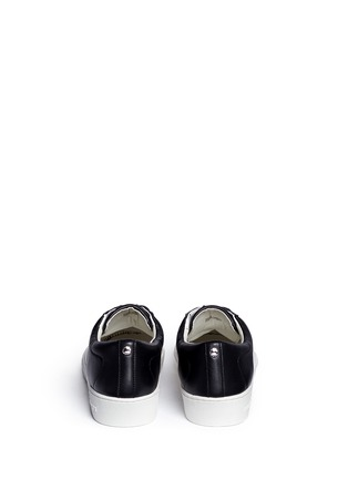 Back View - Click To Enlarge - Michael Kors - 'Toby' colourblock leather sneakers
