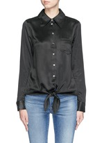 'Archive Luis' silk charmeuse shirt