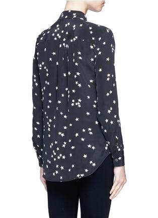 Equipment-'Slim Signature' star print silk shirt