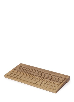 Main View - Click To Enlarge - Orée - Board 2 keyboard and leather pouch set
