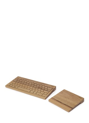 Main View - Click To Enlarge - Orée - Board 2 wireless keyboard and Touch Slab trackpad set