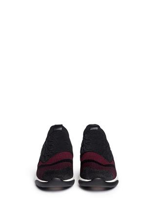 Figure View - Click To Enlarge - Ash - 'Soda' croc embossed neoprene slip-on sneakers