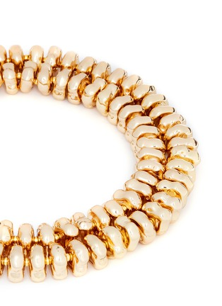 Detail View - Click To Enlarge - Kenneth Jay Lane - Two tier nugget necklace