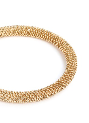 Detail View - Click To Enlarge - Kenneth Jay Lane - Thick tube chain choker necklace