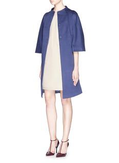 ARMANI COLLEZIONIStretch gabardine pocket shift dress
