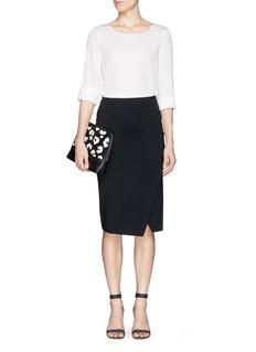 ARMANI COLLEZIONISilk charmeuse blouse