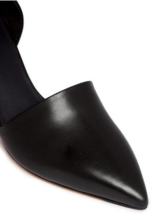 Detail View - Click To Enlarge - Vince - 'Aurelian' leather d'Orsay pumps