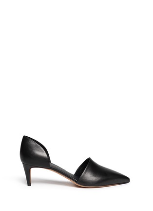 Main View - Click To Enlarge - Vince - 'Aurelian' leather d'Orsay pumps