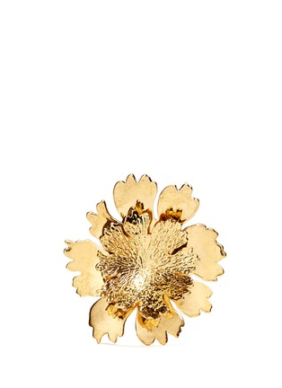 Main View - Click To Enlarge - Alexander McQueen - Lotus flower ring