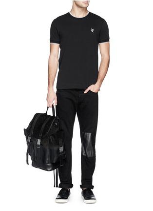 - NEIL BARRETT - 'Port Louis' dégradé leather backpack