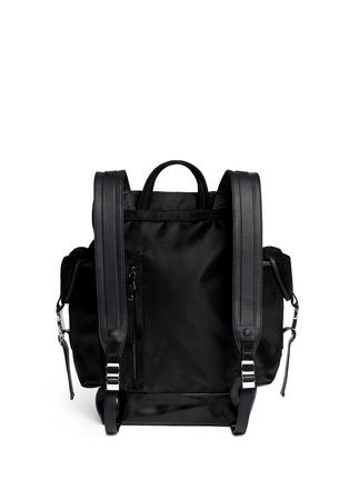 背面 - 点击放大 - NEIL BARRETT - 'Port Louis' dégradé leather backpack
