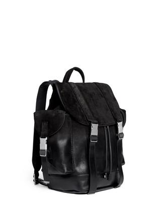 正面 -点击放大 - NEIL BARRETT - 'Port Louis' dégradé leather backpack