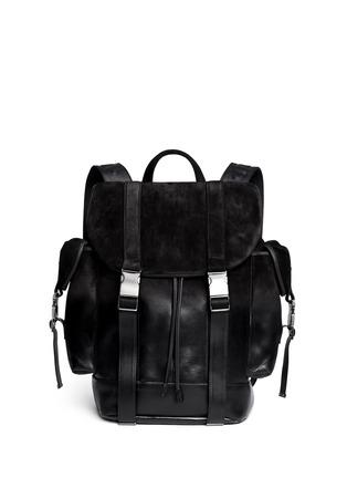 首图 - 点击放大 - NEIL BARRETT - 'Port Louis' dégradé leather backpack