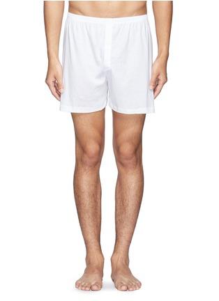 首图 - 点击放大 - ZIMMERLI - 纯棉平脚内裤