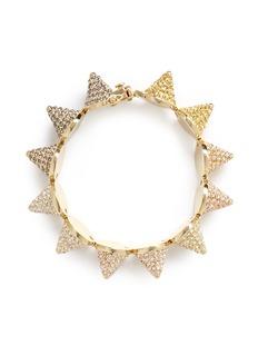 EDDIE BORGOCrystal pavé cone bracelet