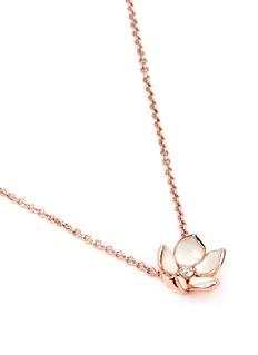 Shaun LeaneCherry blossom pendant diamond necklace