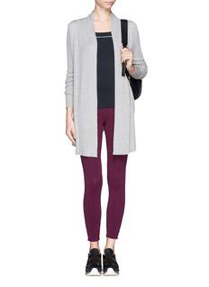 HU-NU7/8 contrast stitch leggings