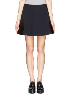 RAG & BONEMontrose leather panel A-line skirt