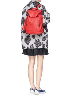 SEE BY CHLOÉ'Cherry' leather bucket backpack