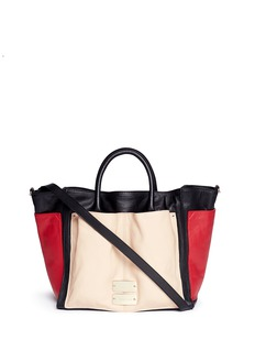 SEE BY CHLOÉ Nellie large colourblock leather tote