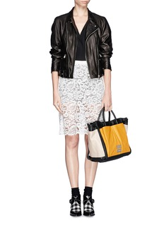 SEE BY CHLOÉNellie large colourblock leather tote