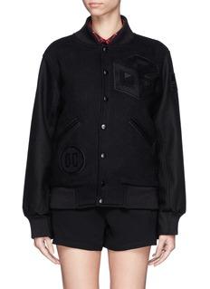 OPENING CEREMONY'Tristan' wool blend varsity jacket