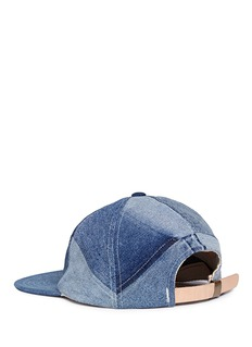 Album 'Star' patchwork denim baseball cap