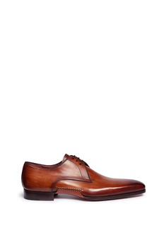 MagnanniBologna sole leather Derbies