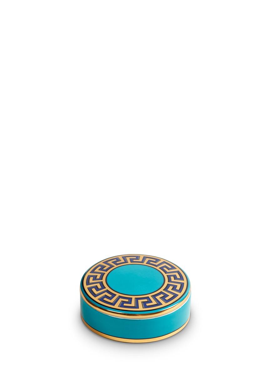 Mykonos round box by Jonathan Adler