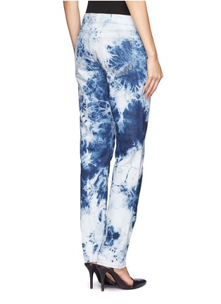 Back View - Click To Enlarge -  - Bennett tie-dyed boyfriend jeans