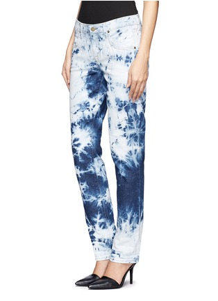 Front View - Click To Enlarge -  - Bennett tie-dyed boyfriend jeans