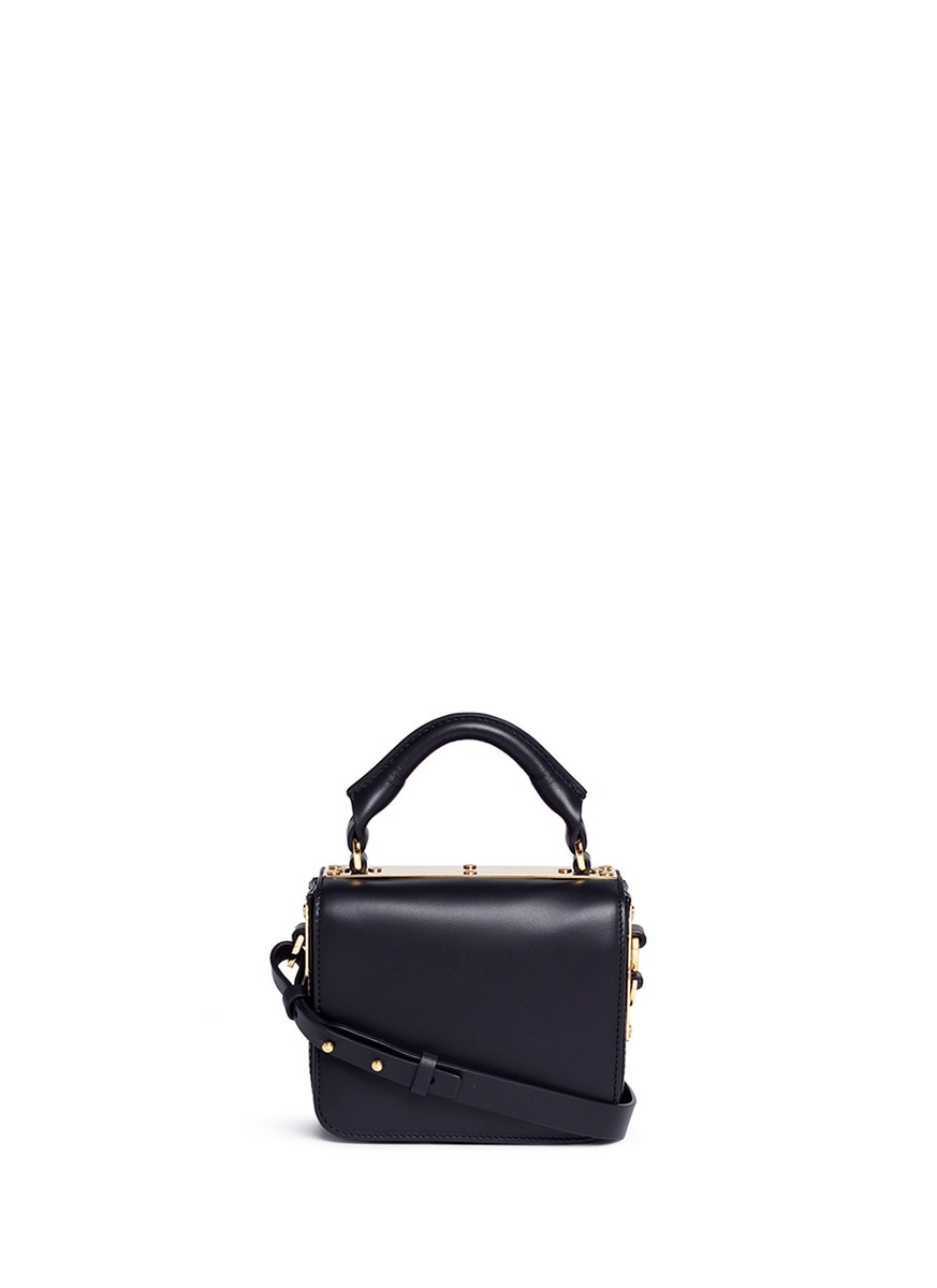 Finsbury small leather crossbody bag by Sophie Hulme
