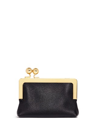 Figure View - Click To Enlarge - Sophie Hulme - 'Sidney' googly eye leather coin purse