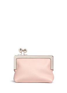 Sophie Hulme 'Sidney' googly eye leather coin purse