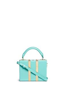 Sophie Hulme'Albany' mini leather suitcase crossbody bag