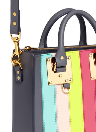 - Sophie Hulme - 'Albion Square' rainbow stripe leather tote