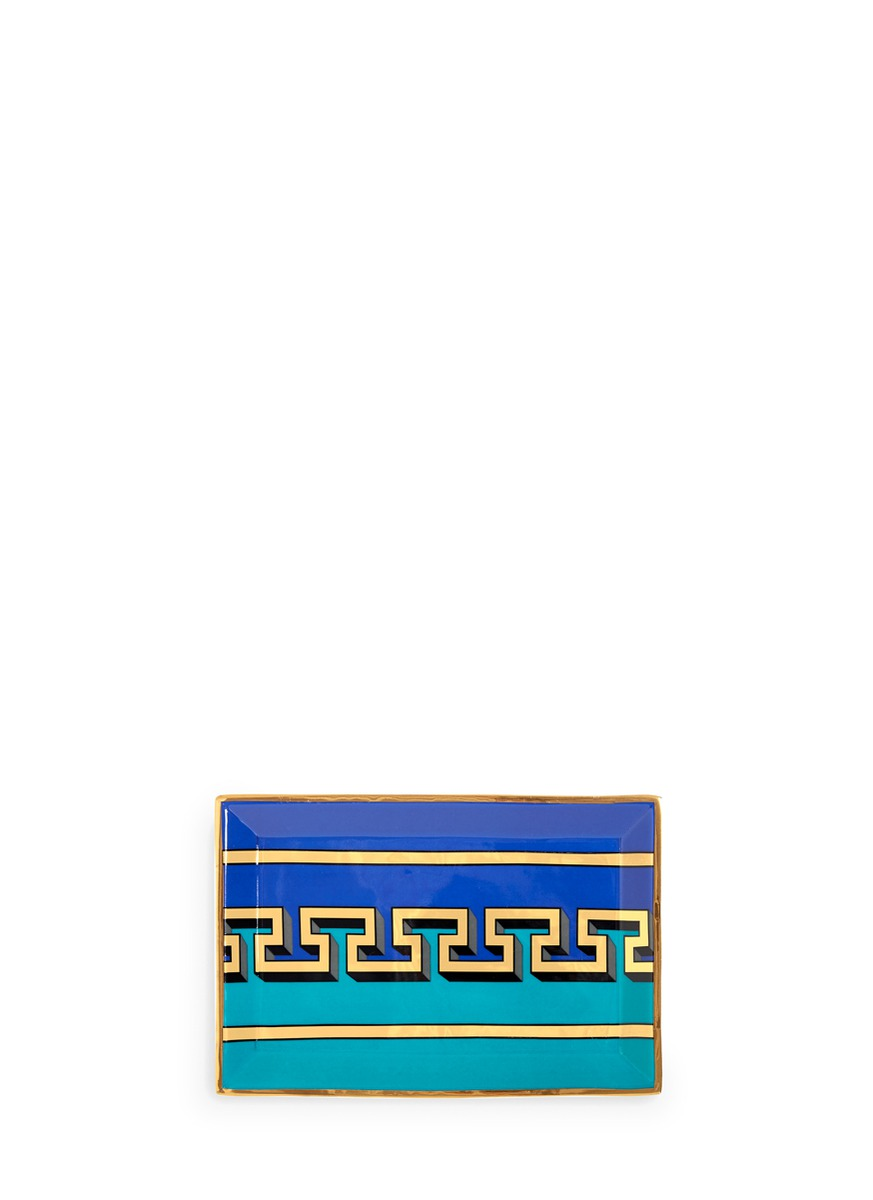 Mykonos rectangle tray by Jonathan Adler