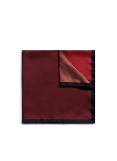 Lanvin Colourblock silk pocket square