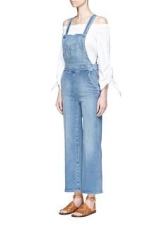 Frame Denim 'Le Button Jumper Walsh' denim overalls