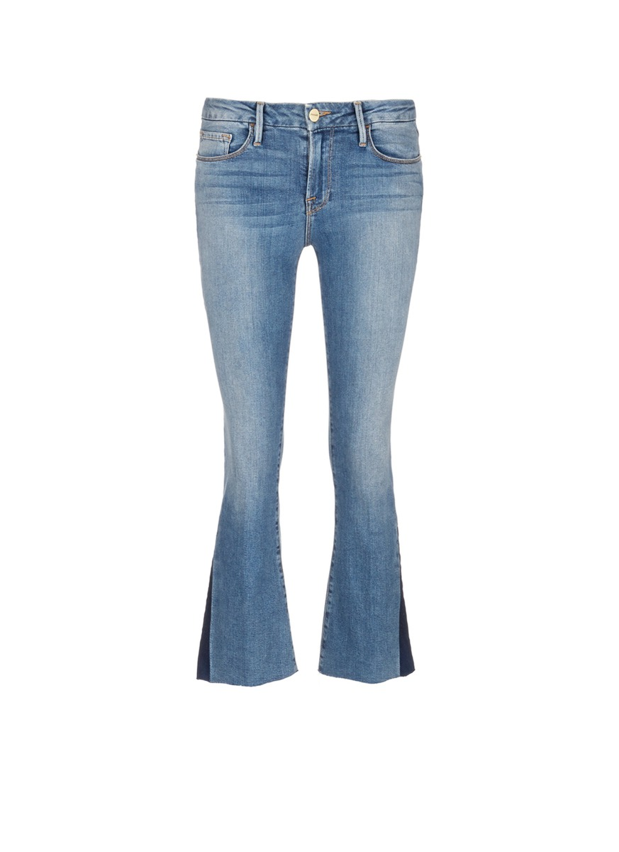 Le Crop Mini Boot gusset jeans by Frame Denim