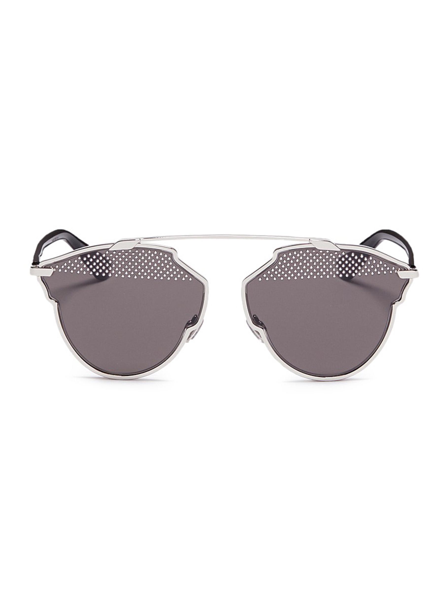 Sunglasses with Studded Lenses - White Dior 0cZsWBwf