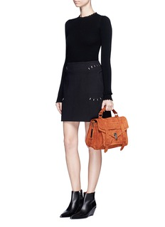Proenza Schouler'PS1' medium suede satchel
