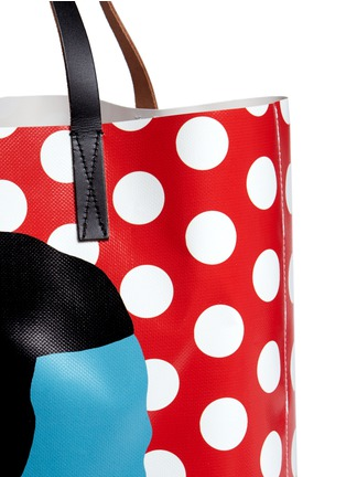 Detail View - Click To Enlarge - Marni - EKTA print shopping tote bag