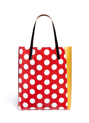 Back View - Click To Enlarge - Marni - EKTA print shopping tote bag