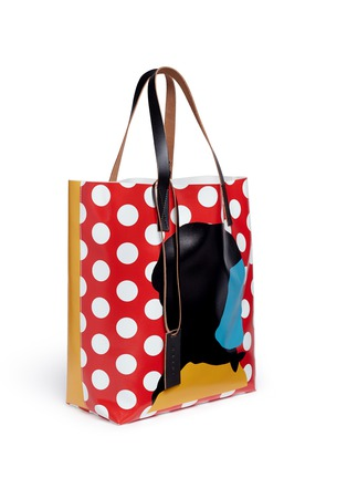 Front View - Click To Enlarge - Marni - EKTA print shopping tote bag