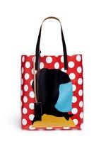 EKTA print shopping tote bag