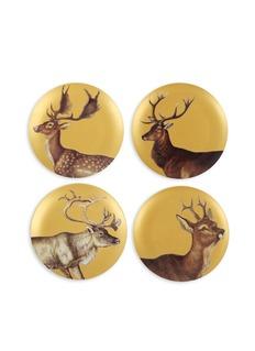 &KMetallic deer plate set
