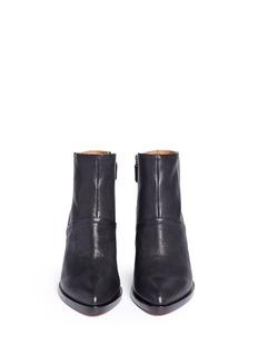10 CROSBY DEREK LAM'Raine' grainy goat leather boots