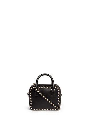 Main View - Click To Enlarge - Valentino - 'Rockstud' mini leather crossbody bag