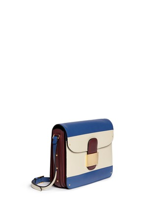 Figure View - Click To Enlarge - Valentino - Colourblock leather shoulder bag